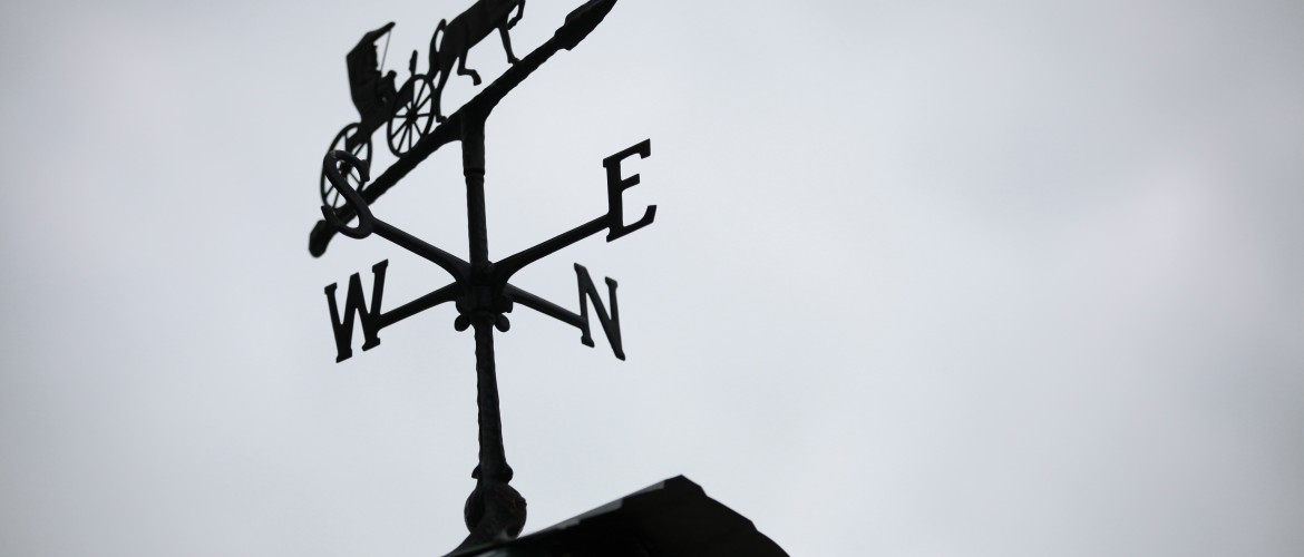 Horse and Carriage Weathervane