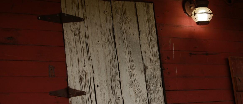 Wooden Barn Window