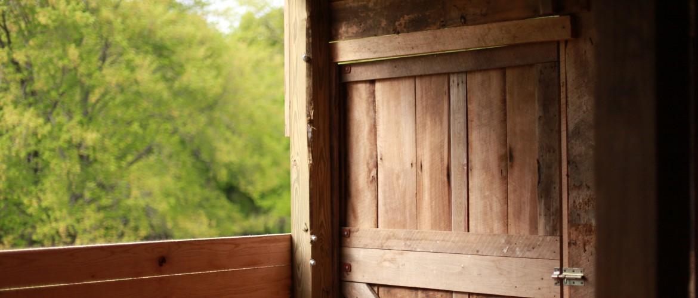 Repurposed Antique Barn Wood Door
